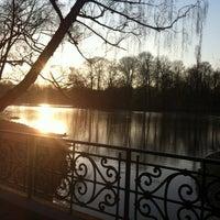 Photo taken at Seehaus im Englischen Garten by Gries C. on 3/21/2012