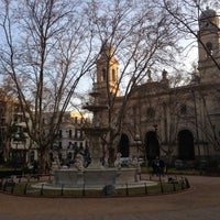 Photo taken at Plaza Matriz by Danilo T. on 7/20/2012