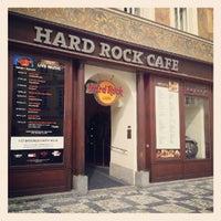 8/24/2012にGustavo A V.がHard Rock Cafe Pragueで撮った写真
