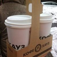 Photo taken at Кофе Хауз by Anastasia K. on 3/30/2012