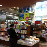 Photo taken at Shanghai Book Mall by Samuel H. on 4/7/2012