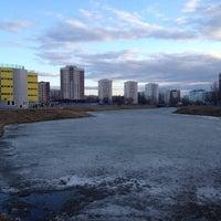 Photo taken at река Новая by Liza T. on 4/14/2012