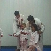 Photo taken at Taekwondo ATA Martinez Chicureo by German A. on 5/26/2012