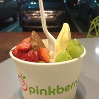 Photo taken at Pinkberry by Crystal F. on 2/17/2012