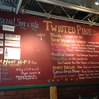 Photo taken at Twisted Pine Brewing Company by Andrew H. on 7/28/2012