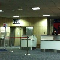 Photo taken at Gate 58A by MOOSE . on 8/19/2012
