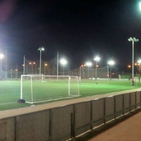 Photo taken at Campos de Fútbol 7 by Blax C. on 2/8/2012