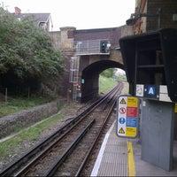 Photo taken at Wimbledon Park London Underground Station by Rod S. on 8/20/2012