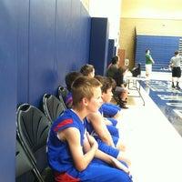 Photo taken at San Juan Hills High School Gymnasium by Kimberlee M. on 4/28/2012