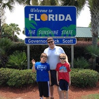Photo taken at Florida Welcome Center (US 231) by Patricia on 7/7/2012