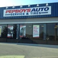 Photo taken at Pep Boys Auto Service & Tire by Jennifer W. on 5/5/2012