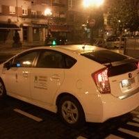 Photo taken at Parada De Taxi De Pio XII by Alejandro G. on 3/9/2012