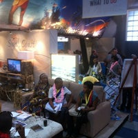 Photo taken at Durban Exhibition Centre by Martin H. on 5/13/2012