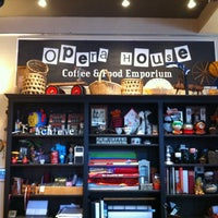 Photo taken at Opera House Coffee &  Food Emporium by Dan V. on 7/26/2012