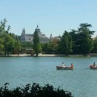 Photo taken at Lago de la Casa de Campo by Dev .. on 8/19/2012