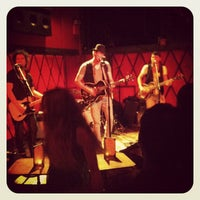 Photo taken at Rockwood Music Hall by Justin A. on 5/20/2012