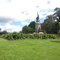 Photo taken at Northernhay Gardens by Becky S. on 7/1/2012