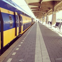 Photo taken at Maastricht Railway Station by Amy O. on 8/16/2012