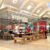 Photo taken at wagamama by William T. on 8/6/2012