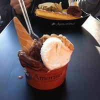 Снимок сделан в Amorino Gelato Al Naturale пользователем maramirou B. 4/9/2012