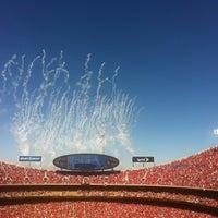 Photo taken at Arrowhead Stadium by Tommie J. on 9/9/2012