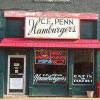 Photo taken at C.F. Penn Hamburgers by Beverly C. on 6/20/2012