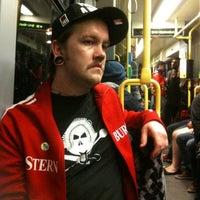 Photo taken at M10 Party Tram by Rachel S. on 4/21/2012
