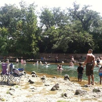 Photo taken at Barton Springs Spillway by Page K. on 8/25/2012