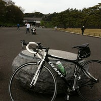 Photo taken at Sakuradamon Gate by Makoto U. on 4/15/2012
