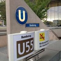 Photo taken at U Bundestag by Da N. on 6/14/2012