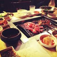 Photo taken at Cham Sut Gol Korean BBQ by Steph C. on 7/22/2012