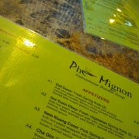 Photo taken at Pho Mignon by Ronald W. on 4/22/2012