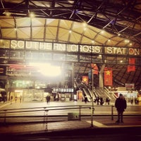 Photo taken at Southern Cross Station by Peter W. on 5/5/2012