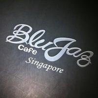 Photo taken at Blu Jaz Cafe by Michelle G. on 3/13/2012