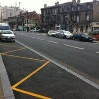 Photo taken at Place Nansouty by Eric B. on 6/10/2012