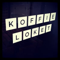 Photo taken at Lokaal Espresso by Christine F. on 3/2/2012