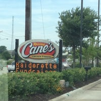 Photo taken at Raising Cane's Chicken Fingers by Reagan W. on 4/26/2012