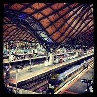 Photo taken at Southern Cross Station by Jordan A. on 7/13/2012
