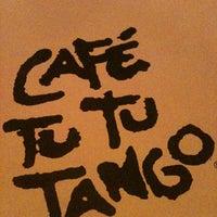 Photo taken at Café Tu Tu Tango by Elaine P. on 5/27/2012