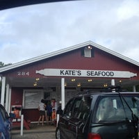Photo taken at Kates Seafood by Jay S. on 8/12/2012