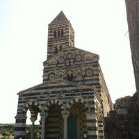 Photo taken at Santissima Trinita di Saccargia by RiiCUss C. on 8/8/2012