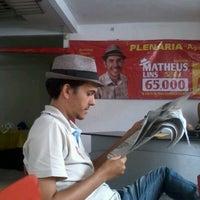 Photo taken at Comitê Matheus Lins 65.000 by Felipe C. on 9/5/2012