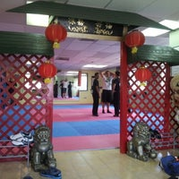Photo taken at Shaolin Kung Fu Wushu Institute by Javier E. on 9/1/2012