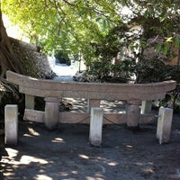 Photo taken at 黒神神社 埋没鳥居 by hagisquare on 2/12/2012