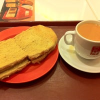 Photo taken at Ya Kun Kaya Toast by Bas Perapat on 6/5/2012