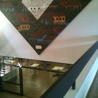 Photo taken at Biblioteca Central Prof. Alpheu da Veiga Jardim (BC) by Guilherme Henrique B. on 4/4/2012
