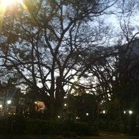 Photo taken at Praça Vilaboim by Erika F. on 7/18/2012