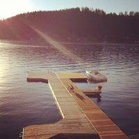 Photo taken at Summit Lake by David B. on 9/8/2012
