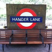 Photo taken at Hanger Lane London Underground Station by KcChano on 6/23/2012