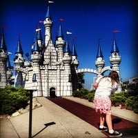 Photo taken at Camelot Golfland by Katie M. on 6/30/2012